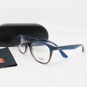 RB 5356 5765 Ray-Ban Blue/ Brown Gradient Glasses